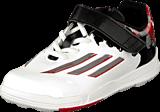 adidas Sport Performance - Messi El I Ftwr White/Granite/Scarlet