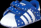 adidas Originals - Superstar Crib Bold Blue/Ftwr White/Bold Blue
