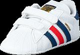 adidas Originals - Superstar Crib Ftwr White/Shadow Blue S16-St