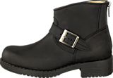 Johnny Bulls - Very Low Boot Zip Back Black/Silver