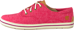 Timberland - Casco Bay Oxford Red/Rubber Rand