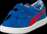 Puma - Suede Superman V Kids Blue/Red