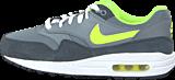 Nike - Nike Air Max 1 (Gs) Cool Grey/Volt-Anthrct-White