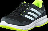 adidas Sport Performance - Duramo 7 K Core Black/Ftwr White/Yellow