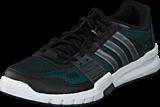 adidas Sport Performance - Essential Star .2 Core Black/Iront/Shock Green