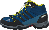adidas Sport Performance - Terrex Mid Gtx K Tech Steel/Black/Unity Lime