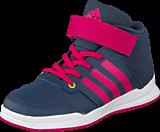 adidas Sport Performance - Jan Bs 2 Mid C Midnight Grey/Super Pink/Pink