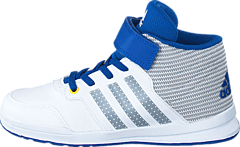 adidas Sport Performance - Jan Bs 2 Mid C Ftwr White/Clear Onix/Eqt Blue