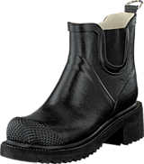 Ilse Jacobsen - Short Rubberboot High Heel Black