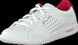 Le Coq Sportif - Arthur Ashe Int Sport Jaquard Optical White/Vintage Red