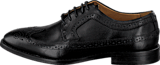 Sebago - Collier Wing Tip Black Leather