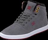 DC Shoes - Crisis High Wnt B Shoe Grey/Dark Red