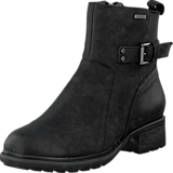 Rockport - First Gore Bootie Black Waxy Pull Wp Wl