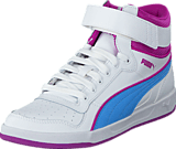 Puma - Puma Liza Mid Jr White-Little Boy Blue