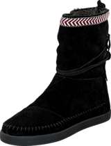 Toms - Nepal boot Black suede trim