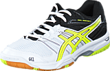 Asics - GEL-ROCKET 7 White/Flash Yellow/Black