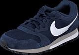 Nike - Nike MD Runner 2 Midnight Navy/White-Wolf Grey