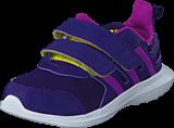 adidas Sport Performance - Hyperfast 2.0 Cf I Collegiate Purple/Purple/Slime