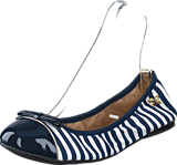 Butterfly Twists - Cara Navy / White Stripe