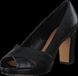 Clarks - Jenness Cloud Black Leather