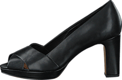Clarks - Jenness Cloud Black Leather