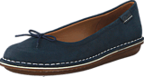 Clarks - Tustin Talulah Navy Leather