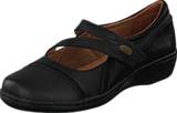 Clarks - Evianna Crown Black Leather
