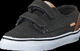 Vans - Brigata V (Washed Herringbone) Jet Black