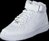 Nike - Wmns Air Force 1 Mid '07 Le White/White