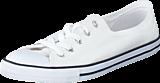 Converse - All Star Dainty-Ox White/White/Black