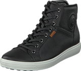 Ecco - Soft 7 Ladies Mid Black