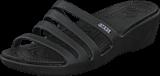 Crocs - Rhonda Wedge Sandal W Black/Black