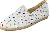Paez - Raw White, Multicolor (Birds)