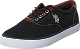 U.S. Polo Assn - Dalan 6 Canvas Black