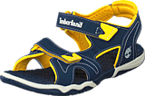 Timberland - Adventure Seeker 2 Strap Jr Navy/Yellow