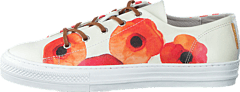 Hush Puppies - Rizzy Low Cut Print Whit/Coral