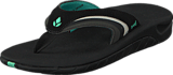 Reef - Girls Slap 3 Black/Black Aqua