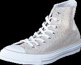 Converse - All Star Sting Ray Metallic-Hi Pure Silver/Black/White