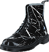 Dr Martens - Pascal Mrbl Black Patent Marble