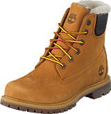 Timberland - 6 In Prem Shearling Lined Wheat Nubuck