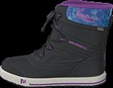 Merrell - Snow Bank 2.0 WTPF Black/Print/Berry