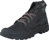 Palladium - Pampa Hi Cuff Leather Black