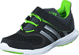 adidas Sport Performance - Hyperfast 2.0 El K Core Black/Silver/Solar Green