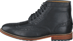 Lyle&Scott - Brogue Boot Leather 572 True Black
