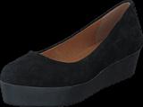 Bianco - Suede Platform 10 Black