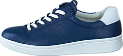 Ecco - 218033 Soft 4 True Navy/ White