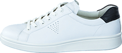 Ecco - 218033 Soft 4 White/ Black