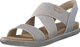 Ecco - 248223 Damara Sandal Moon Rock/ Gravel/ Powder