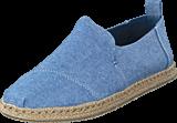 Toms - Deconstructed Alpargata Cornflower Blue Slub Champbrey
