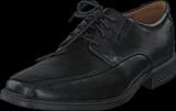 Clarks - Tilden Walk Black Leather